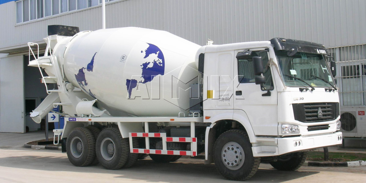 volumetric concrete mixer truck