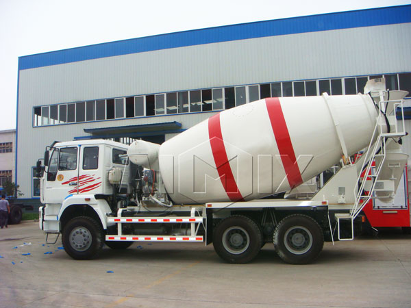 volumetric concrete mixer truck for sale