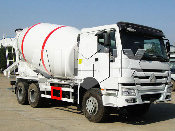 volumetric concrete mixer trailer