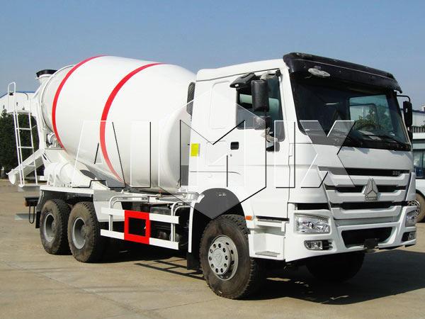 mobile cement mixer trucks