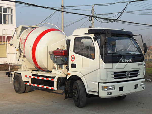 4m³concrete agitator truck