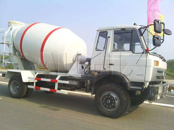 ready mix concrete truck capacity