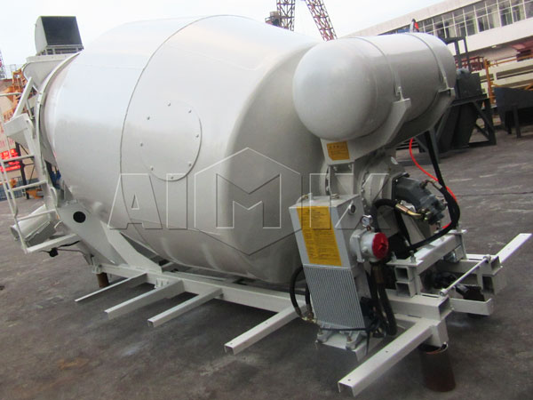 6m³ mixer drum
