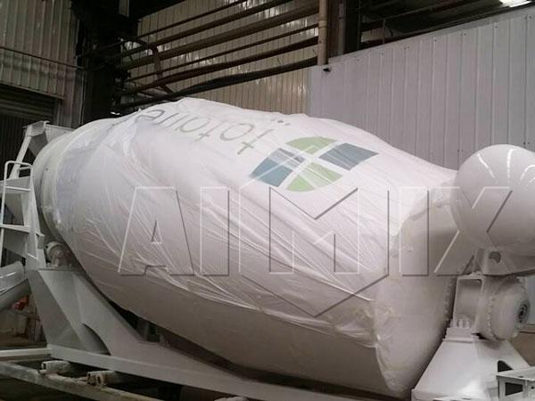 9m³ concrete mixer tank