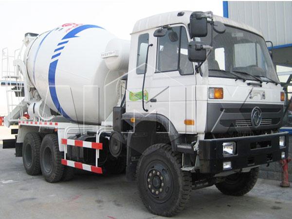 8 m³ cement agitator truck