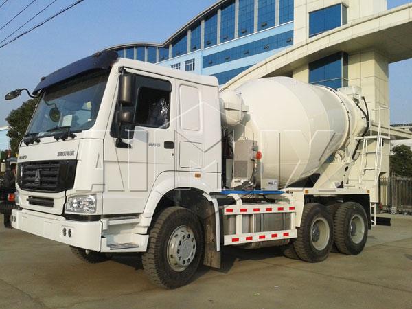 3m³agitator truck