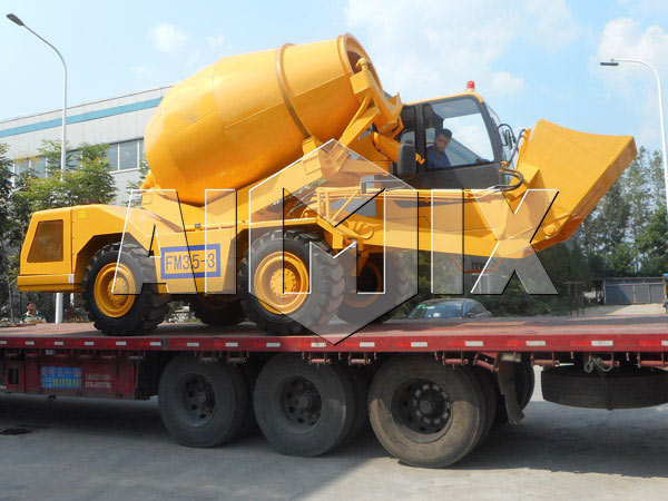 self loading concrete mixer truck south africa