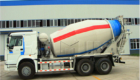 new cement mixer truck
