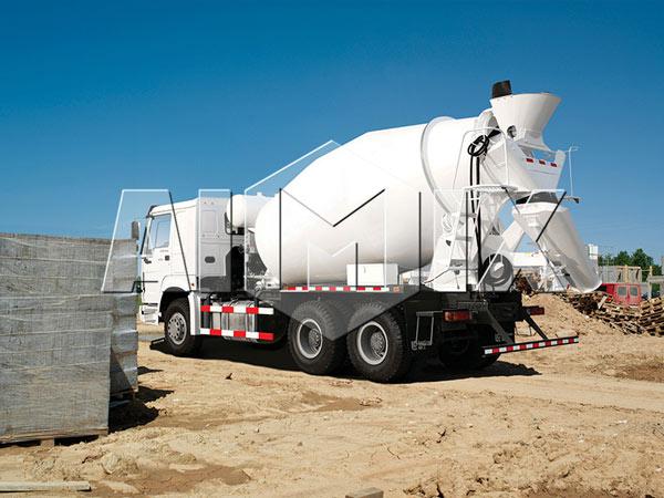 small load concrete trucks