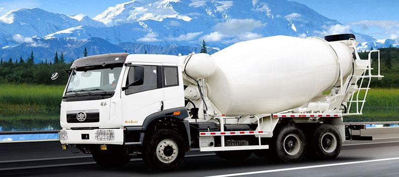 capacity of a concrete mixer truck