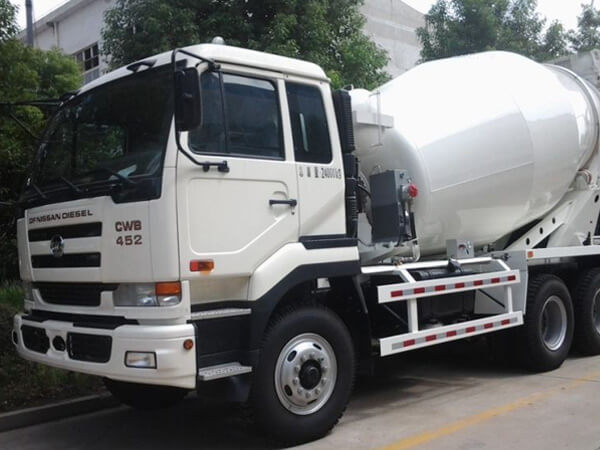ready mix truck capacity