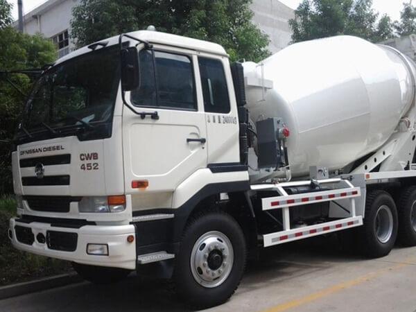 ready mix truck capacity