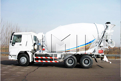 Trailer concrete mixer truck for sale