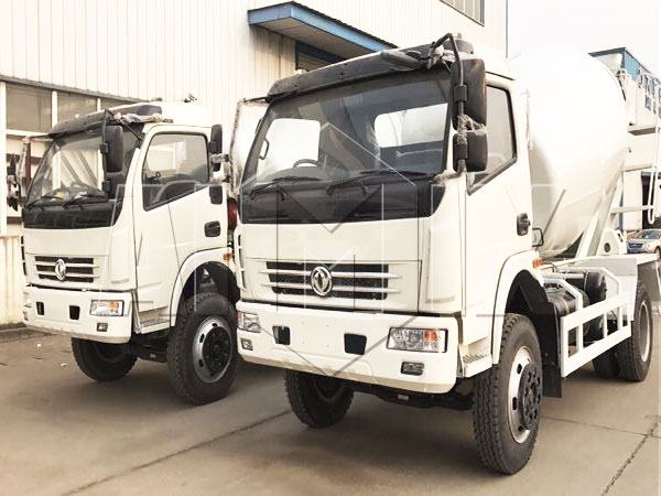 6m³ Dongfeng concrete mixer-truck