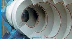 spiral blades of concrete mixer truck