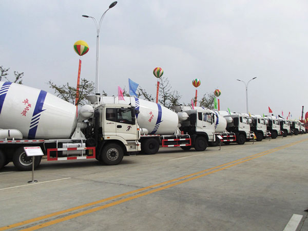 concrete mixer truck specifications