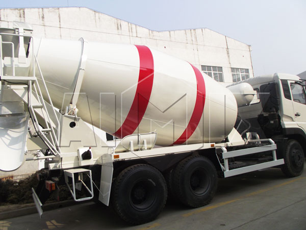8m³concrete batching truck