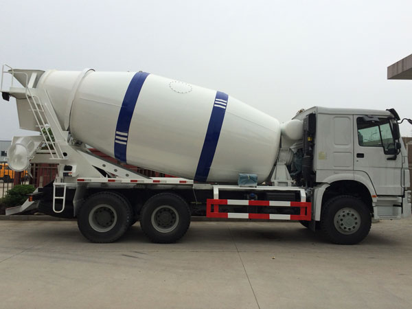 brand new concrete mixer truck