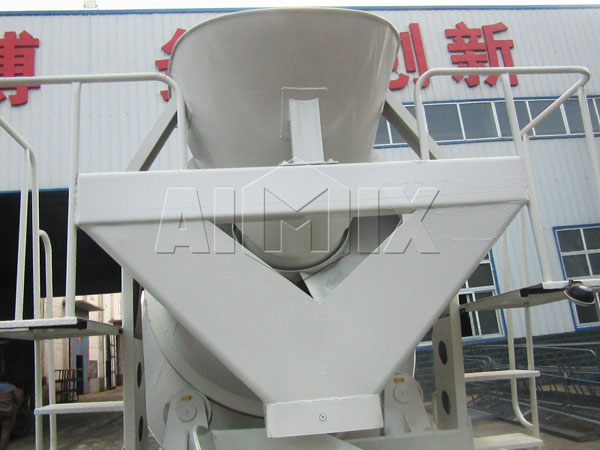 discharge system ofvolume metric concrete trucks for sale