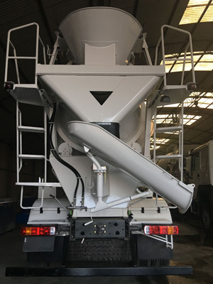 Mini Truck Concrete Mixer