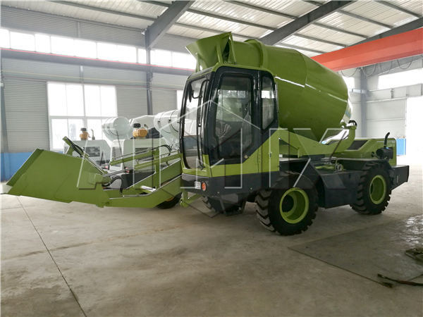 self loading concrete mixer for sale