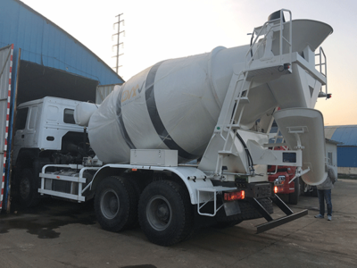 cement mixer truck capacity