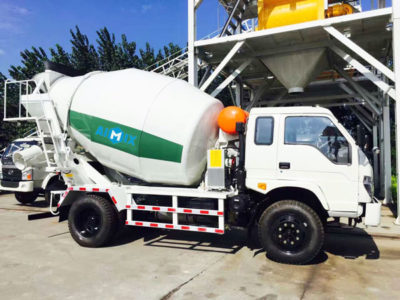 6 m³ concrete transit mixer