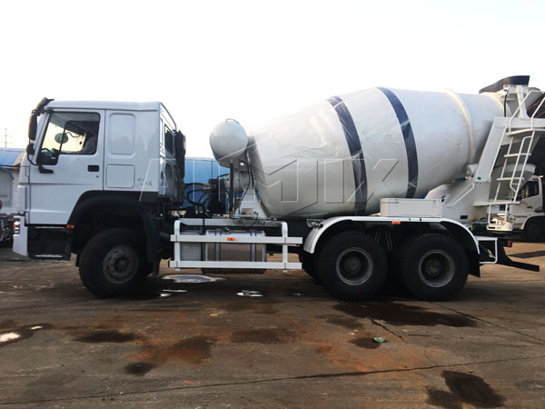 new concrete truck