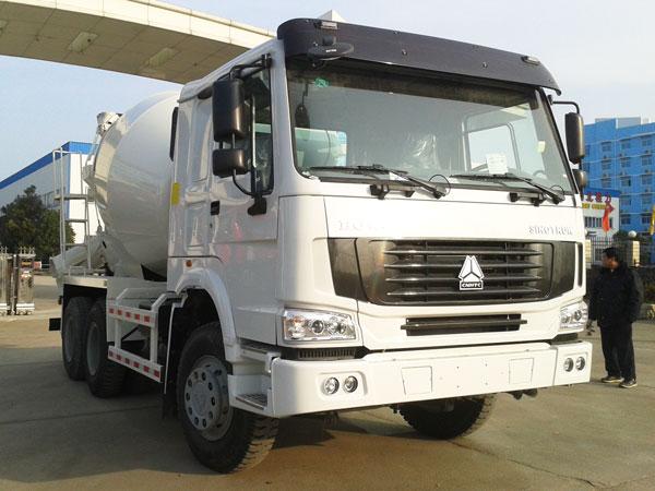 10 cub concrete mixer truck