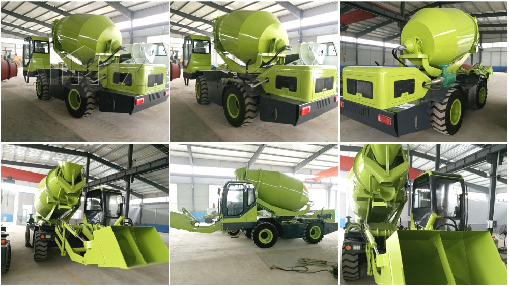 self loader mixer