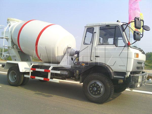 5m³ concrete mixer truck