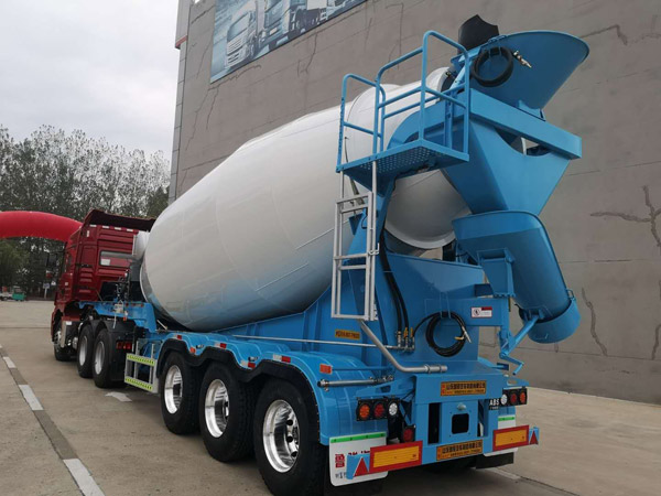 trailer concrete mixer